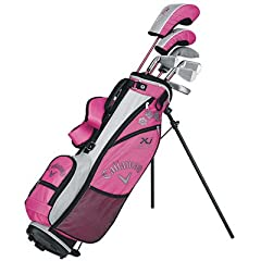 CALLAWAY XJ JUNIOR SERIES COMPLETE GIRLS GOLF SET AGES 9-12 LEFT HAND - NEW by Callaway
