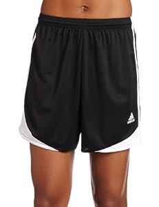 adidas Women's Tiro 11 Short, Black/White, Large