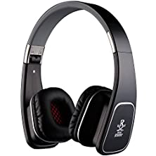 buy Letton Jouy Roger M1 Lightweight Folding 3.5Mm Stereo On-Ear Headphones Headset Earphones With Build-In Microphone And Control Button For All Smartphones,Laptops,Mp3/Mp4,Psp,Ipod (Black)