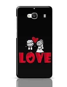 PosterGuy Redmi 2 / Redmi 2 Prime Case Cover - Love Love