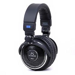 Soundmagic HP 200 Open-Back Headphones (Black)