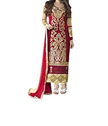 Poonam Fab-Unstitch Dress Material__gold