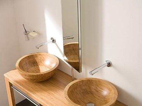 Specchio girevole bagno specchio toilette specchio Lineabeta 107x 28cm