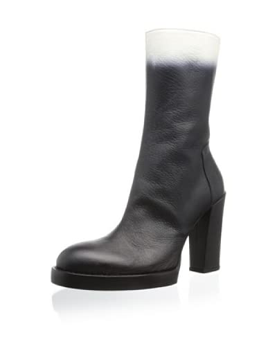 Ann Demeulemeester Women's Vitello Olio Lavato Degrade Boot
