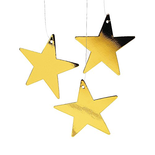 Gold Star Decor (1 dz)