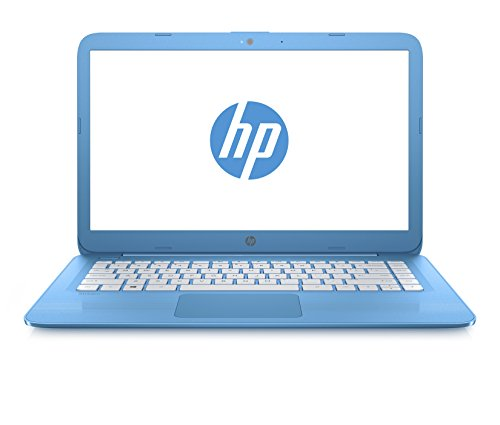 "HP Stream 14-ax006nl Notebook, Intel Celeron N3060, RAM 4GB, HDD da 32GB, Schermo HD WLED 14"" (1366x768), Microsoft Office 365 (1 anno) incluso, Azzurro"