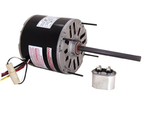 A.O. Smith Bdh1024 1/4~1/6 Hp, 1625 Rpm, 2 Speed, 460 Volts0.9-0.7 Amps, 48 Frame, Ball Bearing Direct Drive Blower Motor