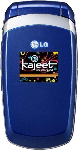 Lg Lx 160 Prepaid Phone, Blue (Kajeet)