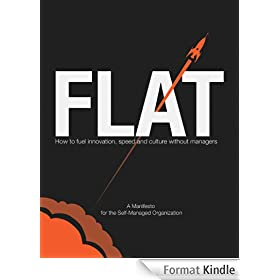 FLAT: How to Fuel Innovation, Speed, and Culture Without Managers (English Edition)