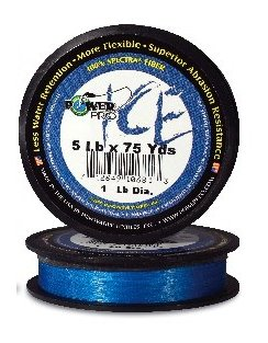 100 Yds Powerpro Ice Line Yellow from POWERPRO