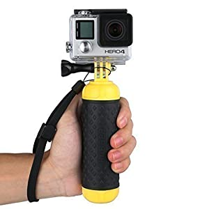 Yemo® Slicone Floating Bobber Grip Pole with Thumbscrew + Wrist Strap For All GoPro HERO 1 2 3 3+ 4 Session SJ4000 SJ5000 etc