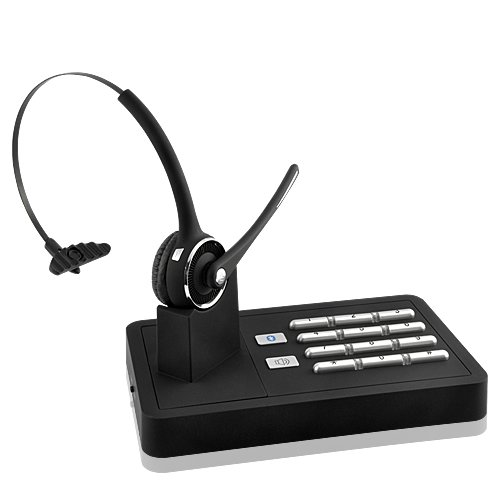 Sourcingbay Handsfree Wireless Bluetooth Headset System (2-In-1 Telephone Landline And Mobile Phone Connection)