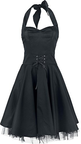 Black Premium by EMP Halter Dress Abito nero M