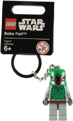 Lego Star Wars 851659 Boba Fett Key Chain - 1