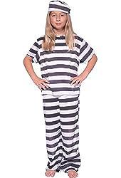 Girl's Prisoner Child's Costume
