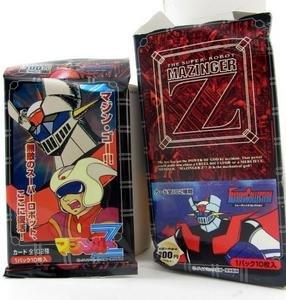 Super Robot Mazinger Z Trading Card 1 Pack - Rare Vintage Japan Import 1997