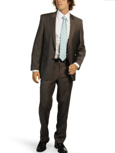 Lan.F.lli Cerruti Suit (UK: 36 tall / EU: 90, brown)