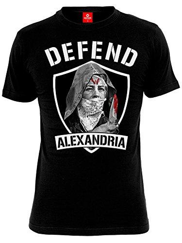 The Walking Dead Defend Alexandria T-Shirt nero L