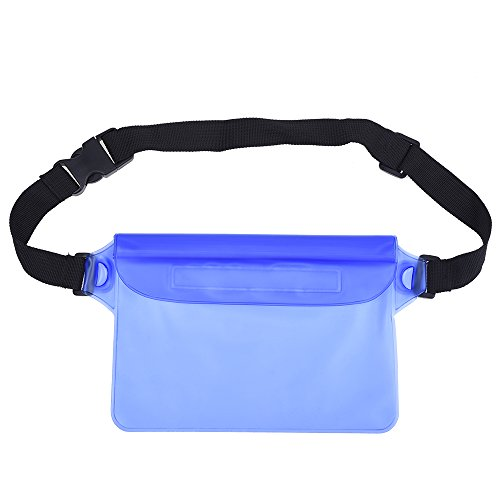 Mudder-Waterproof-Pouch-Bag-with-Adjustable-Waist-Strap-for-Swimming-Sunbathing-Kayaking-Fishing-Hiking-Water-Park