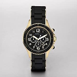 Marc by Marc Jacobs MBM2552 Rock Chrono Silicone Wraped Watch