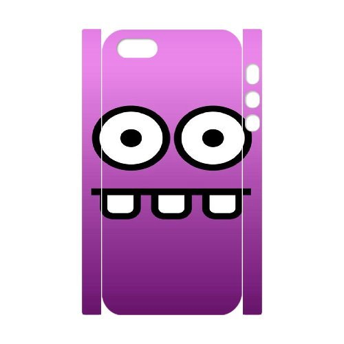 3D IPhone 5,5S Cases Funny 16, Funny Cases Vety, {White}