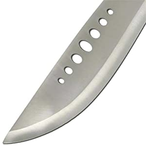 Book of Eli High Carbon Stainless Hunting Machete (Color: Brown, Tamaño: Full Size)