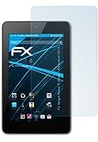 atFoliX Lot de 2 films de protection d'écran pour Asus Nexus 7 Transparent Fabriqué en Allemagne