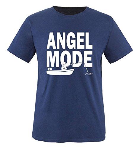 Comedy Shirts Men'S Angel Mode T-Shirt Xxl Navy/White