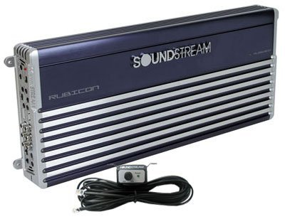 Rub1.1600D - Soundstream Monoblock 1600 Watt Rms Rubicon Series Subwoofer Amplifier