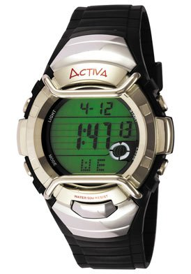 ACTIVA Watches:Activa Men's AD042-004 Multi-function Digital Watch Images