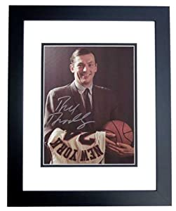 Bill Bradley Autographed Hand Signed New York Knicks 9x12 Photo - BLACK CUSTOM FRAME by Real Deal Memorabilia