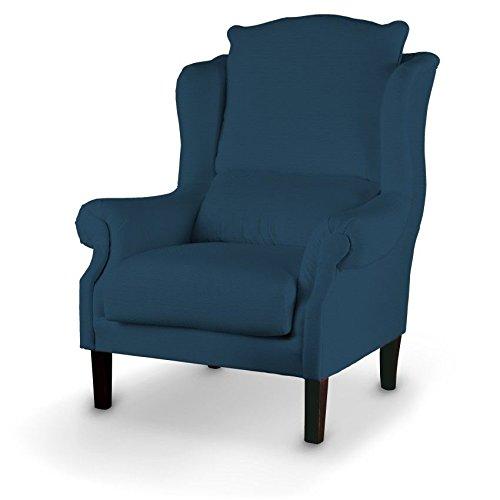 Dekoria Sessel 63 x 115 cm marinenblau