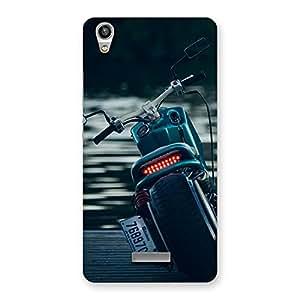 Impressive Cruise Bike Multicolor Back Case Cover for Lava-Pixel-V1