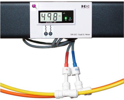 Hm Digital Dm-2Ec Commercial In-Line Dual Ec Monitor, 0-9990 Μs Range, +/- 2% Readout Accuracy