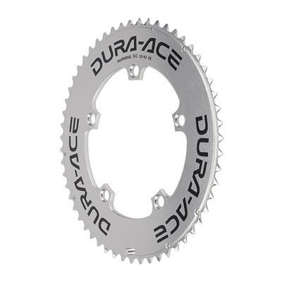 Shimano FC-7800/7700 Dura Ace Chainring for TT/TA 55T x 130mm A-Type, 10s Silver