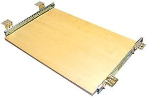 EisenRon Tastaturauszug in Ahorn Dekor und 4 Größen bis 30kg Schreibtischauszug neu 60x30cm  Standart Höhe    Rezension