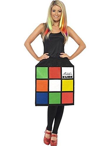 Rubik's Cube Costume Female UK