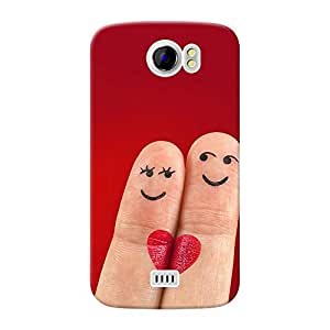 Inkif Printed Designer Case For Micromax Canvas 2 (A110) Multi-Coloured