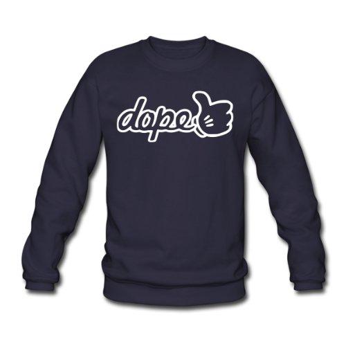 Spreadshirt, dopethumbsup, Men's Sweatshirt, navy, L