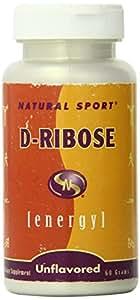 Natural Sport D-Ribose Unflavored, Powder, 60 Grams