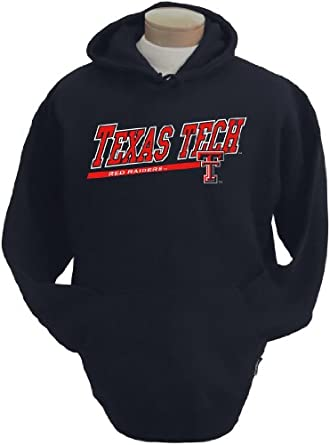 NCAA Mens Texas Tech Red Raiders Zooey Hooded Sweatshirt by CI Sport