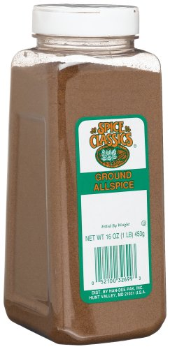 McCormick Allspice, Ground, 16-Ounce Plastic