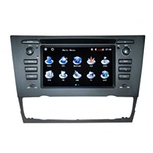 Peeneer Intelligent BMW M3 Series E93 6-8 Inch Touchscreen Double-DIN Car DVD Player & In Dash Navigation System,Navigator,Build-In Bluetooth,Radio with RDS,Analog TV, AUX&USB, iPhone/iPod Controls,steering wheel control, rear view camera input