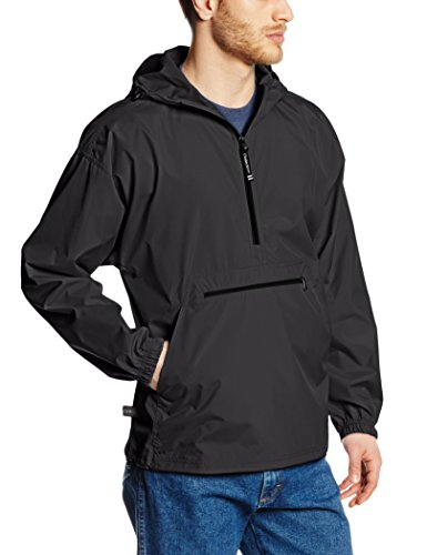 Charles River Apparel Men's Pack-N-Go Windbreaker Pullover
