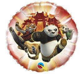 "Kung Fu Panda 2 Characters Temple 18"" Balloon Mylar - 1"