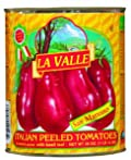 La Valle San Marzano Peeled Tomatoes 28.0 OZ (Pack of 12)