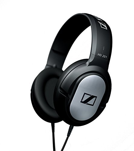 Sennheiser HD201 Cuffie Over-Ear, Stereo, Cavo 3 m,