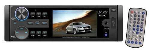 Legacy Ld31Mu 3-Inch T Feet Dvd/Vcd/Mp4/Mp3/Mp4/Cd/Cd-Rw Compatible And Usb Port
