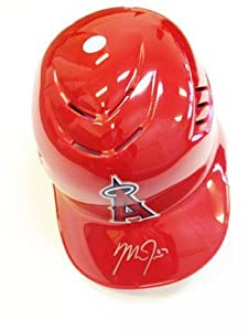 Mike Trout Signed Batting Helmet California Angels