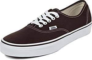VANS AUTHENTIC SKATE SHOES 3.5 Men US / 5 Women US (ESPRESSO)